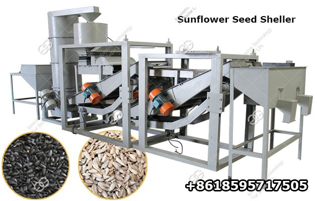 Automatic Sunflower Seeds Sheller Machine Hemp Seed Huller for Sale