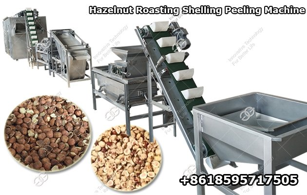 Hazelnut Cracker Processing Equipment Plant